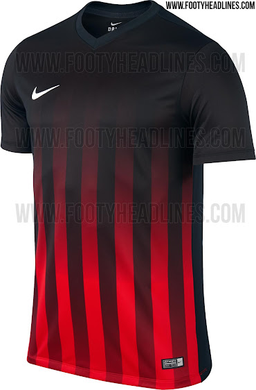 5cd1670ec Inspired by the previous generation of the Nike Striped Division Shirt  teamwear template
