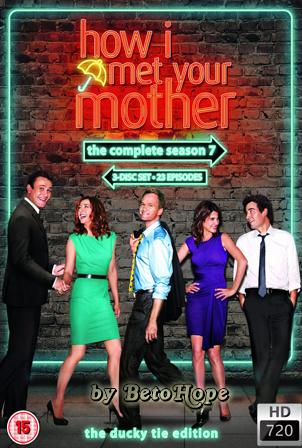 How I Met Your Mother Temporada 7 [720p] [2011] [Ingles Subtitulado] HD 1080P  [Google Drive] GloboTV