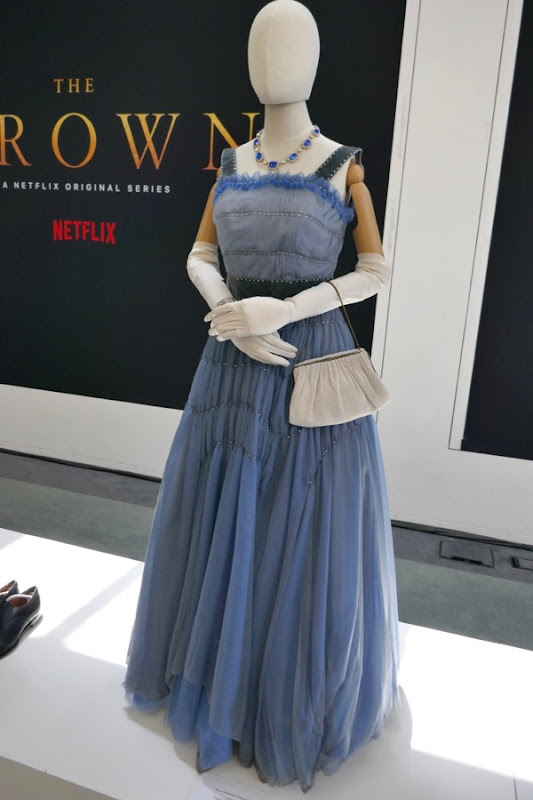 Queen Elizabeth II dinner gown Crown season 2