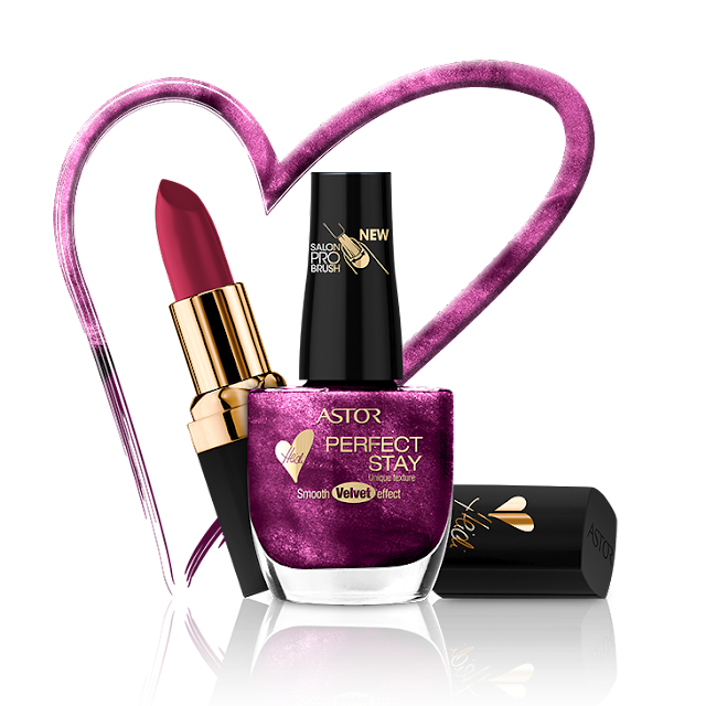 Perfect Stay Velvett y Color Last Vip by Heidi  Klum de ASTOR COSMETICS