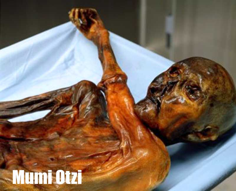 Foto Penemuan mumi Otzi