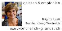 Brigitte Lusti gelesen und empfohlen. Buchhandlung Wortreich