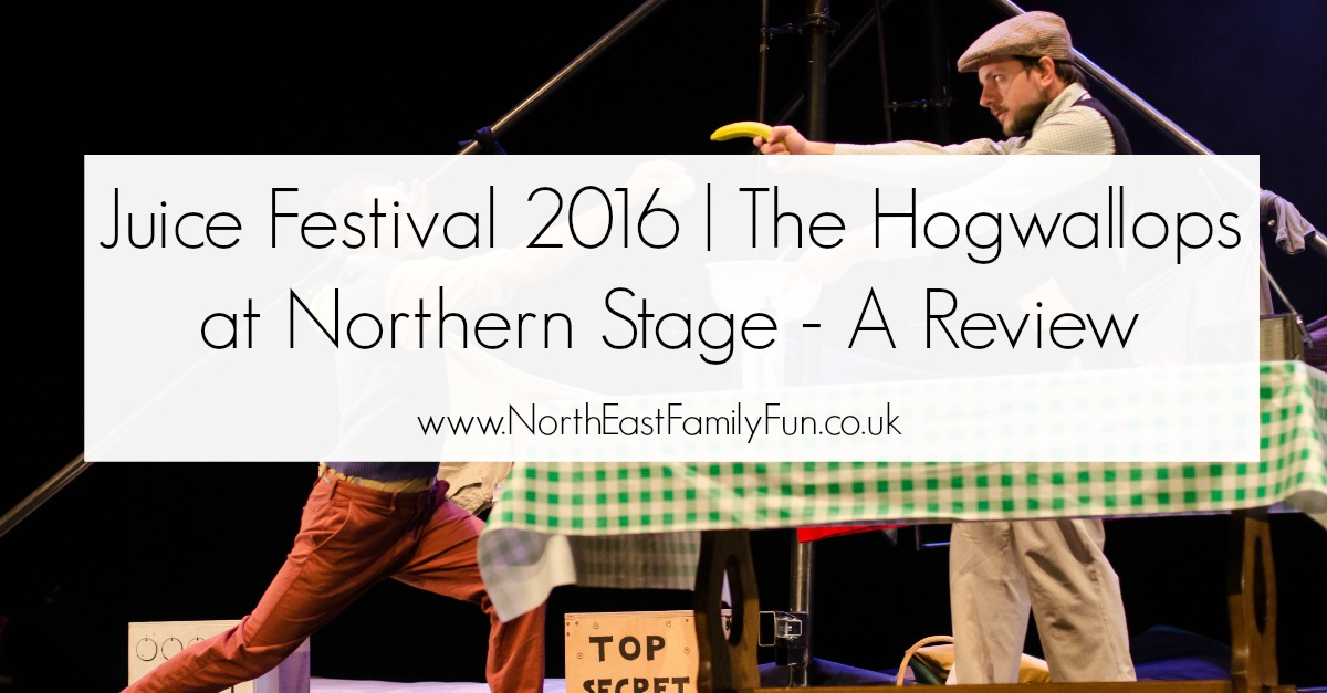 Juice Festival 2016 | The Hogwallops at Northern Stage - A Review