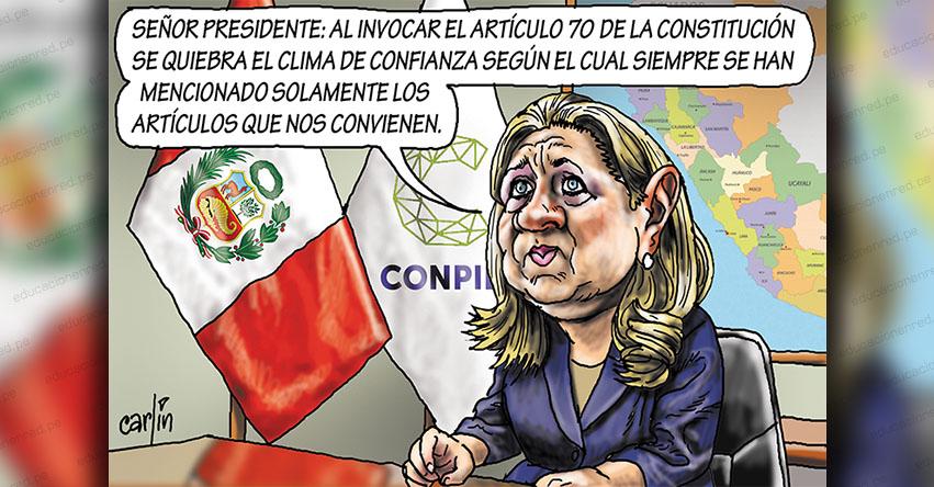 Carlincaturas Miércoles 1 Julio 2020 - La República