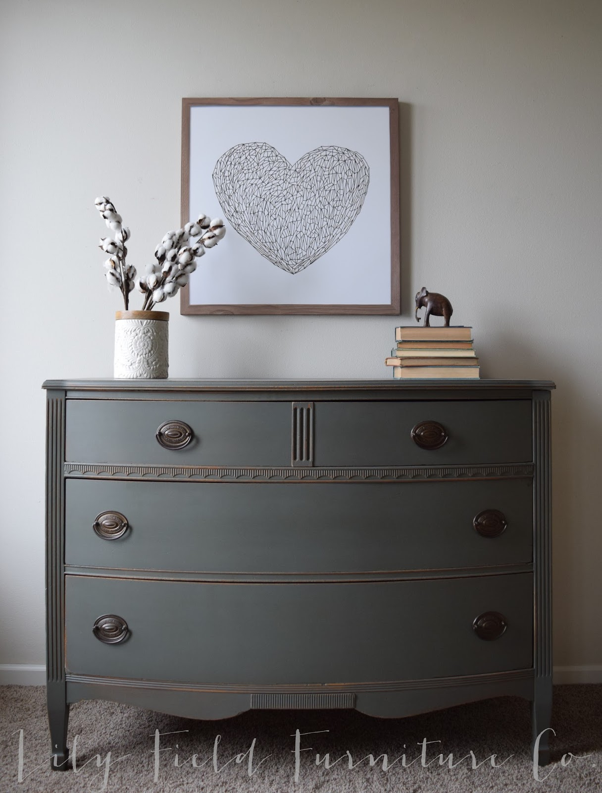 Sherwin williams cast iron dresser color matched by Best color to paint dresser
