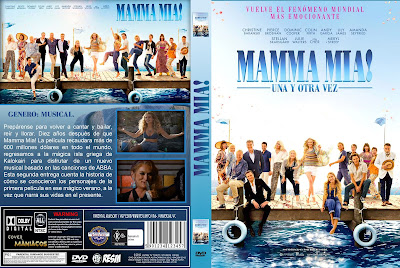 Mamma Mia 2018 Cover Dvd Bluray Covermaniacos Cover