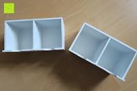 Schubfächer oben: Küchenschrank Wandschrank Hängeschrank 4 Haken 4 Schubladen 2 Glastüren Schrank