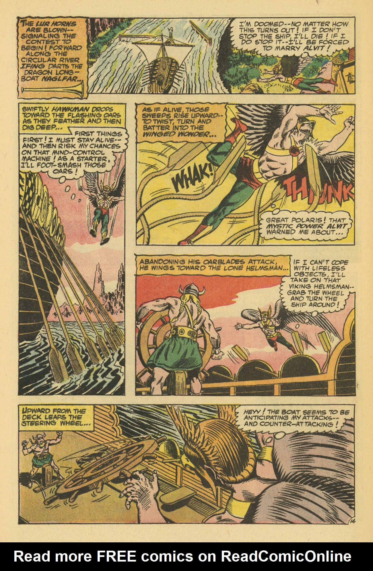 Hawkman (1964) issue 13 - Page 20