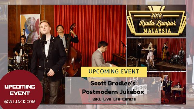 [Upcoming Event] Scott Bradlee's Postmodern Jukebox @ Kuala Lumpur 2018