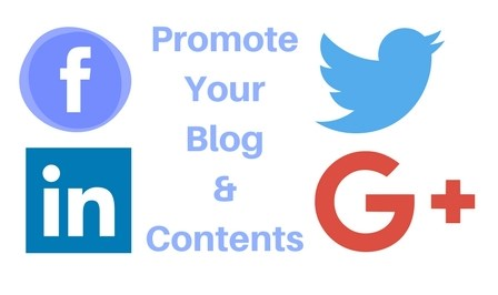 Promote your blog and contents