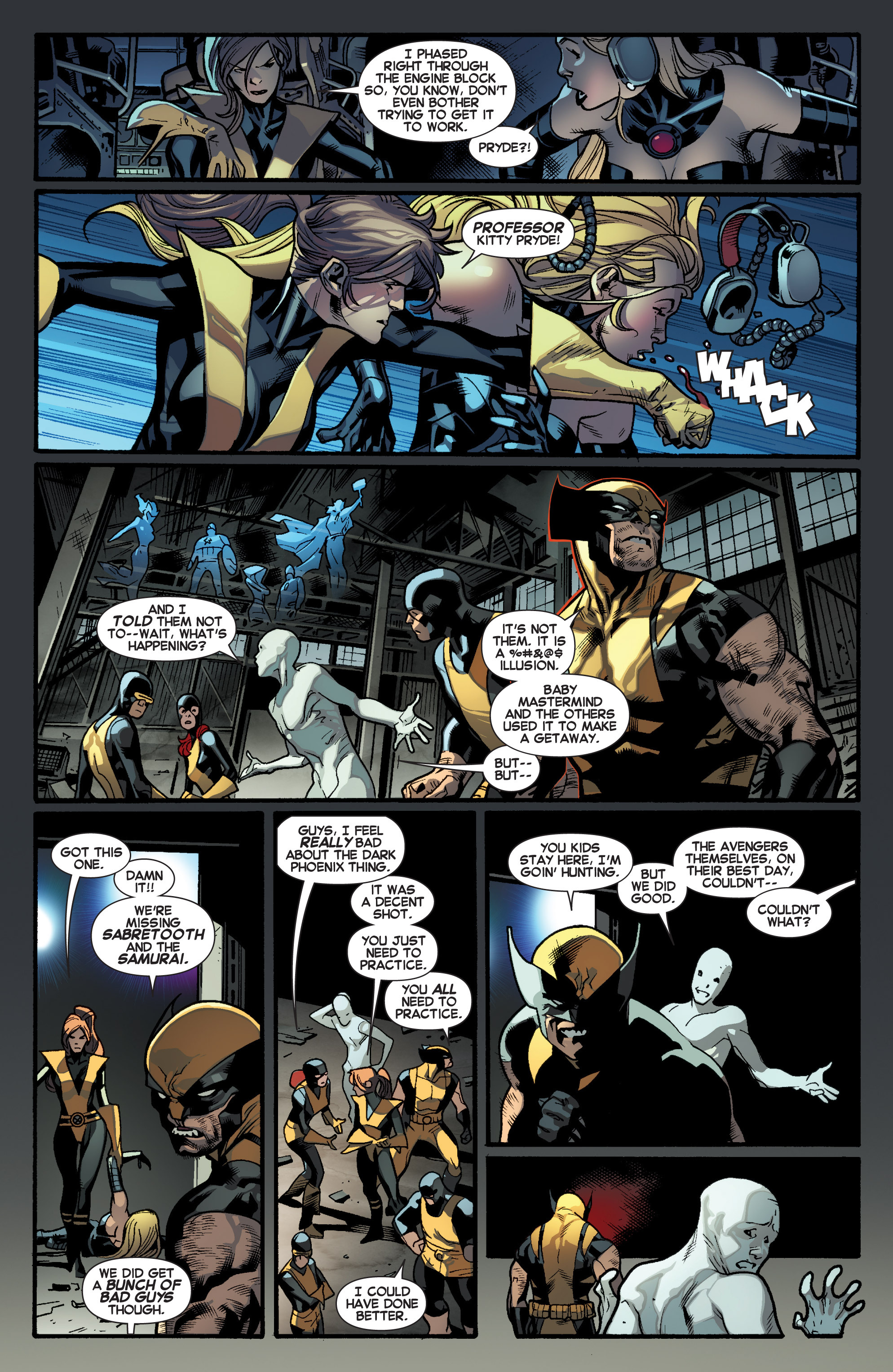 Read online All-New X-Men (2013) comic -  Issue # _Special - Out Of Their Depth - 82