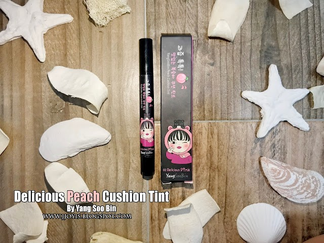 Review: YangSooBin Peach Cushion Tint (02 Delicious Pink)