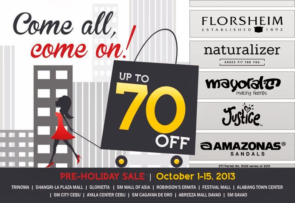 afdc44bedd1f This is the biggest and earliest pre-holiday sale in the metro! Check out  Naturalizer