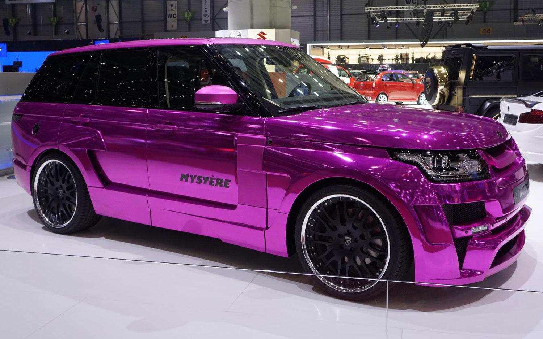 Cars Model 2013 2014 Hamann Range Rover Adds Big Pop Of