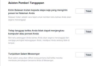Cara Mengaktifkan Auto Reply Pesan di Fanspage Facebook
