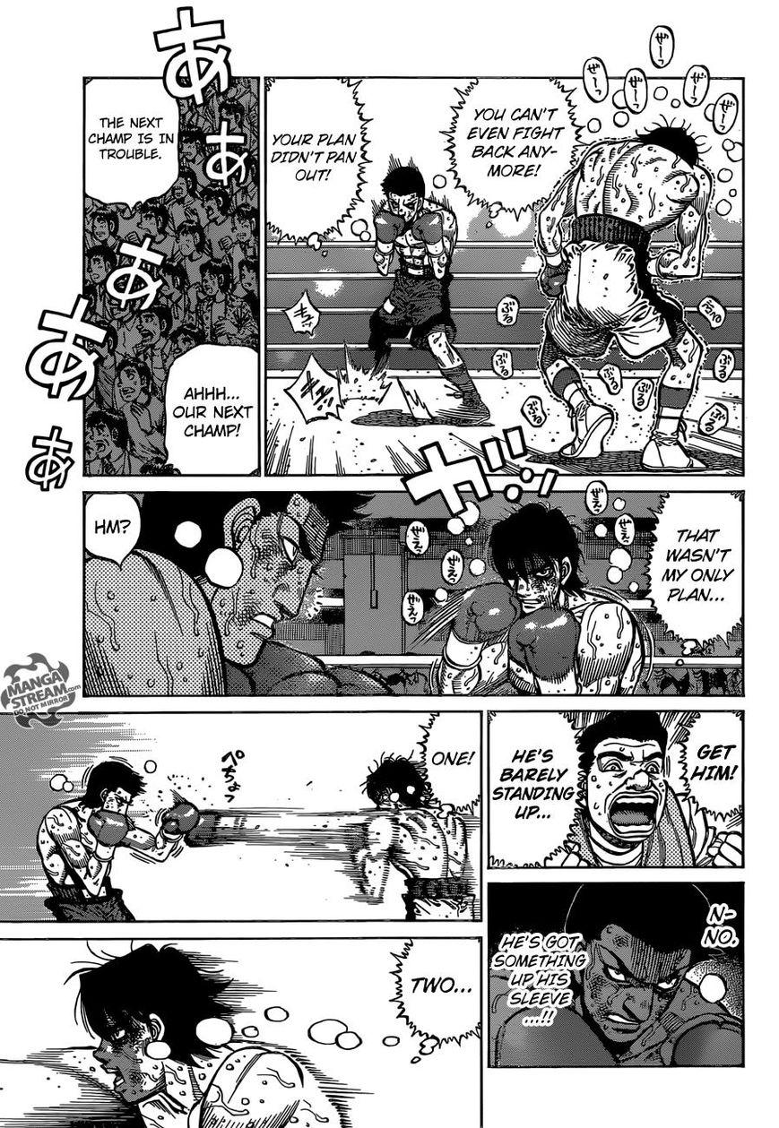 Hajime no Ippo - Chapter 1137