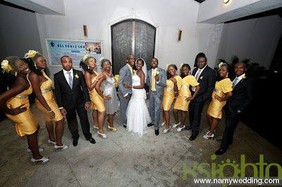 Pictures From Obiwon's Church Wedding & Reception. 10