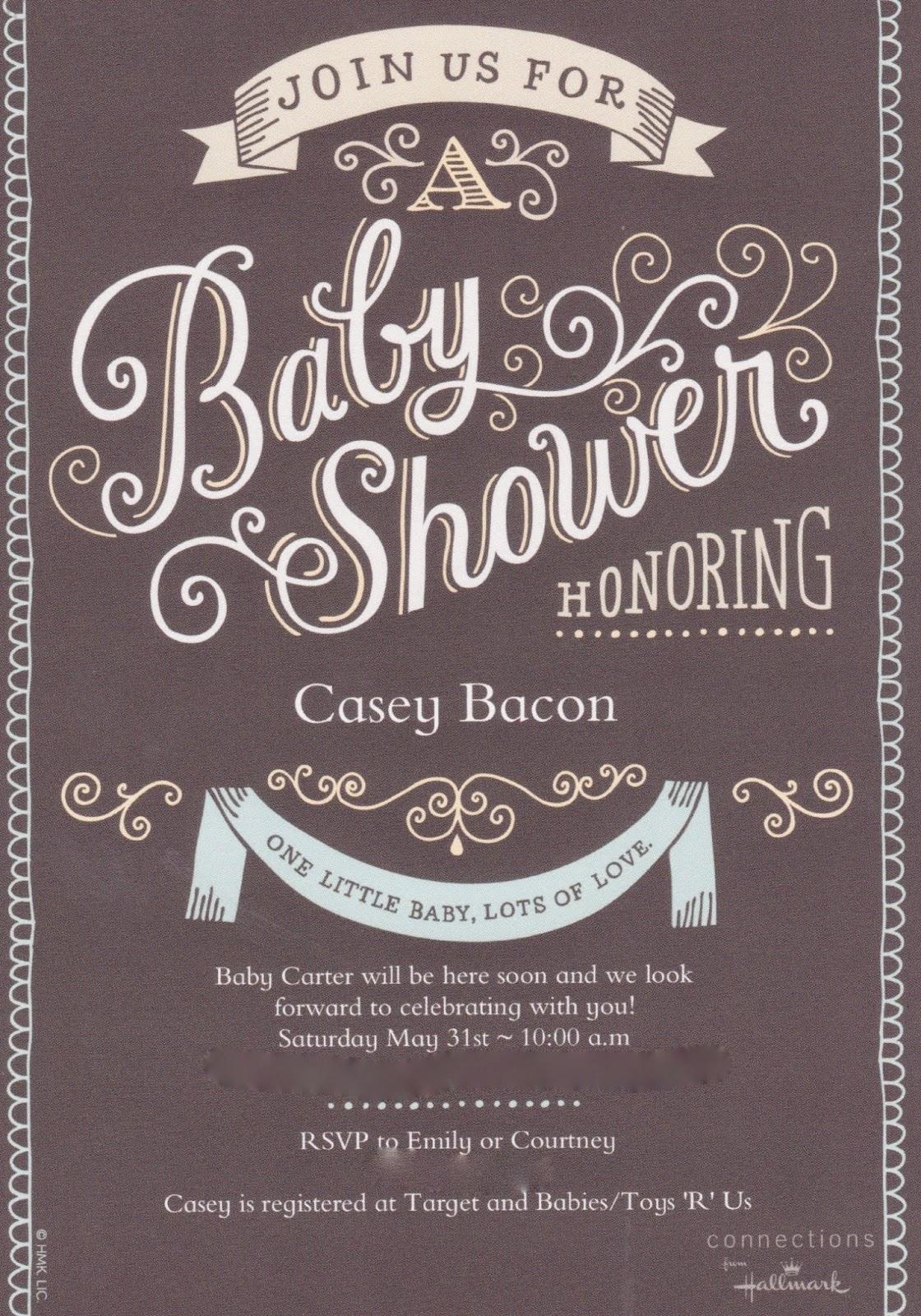 Casey's Baby Shower (Minus Casey)
