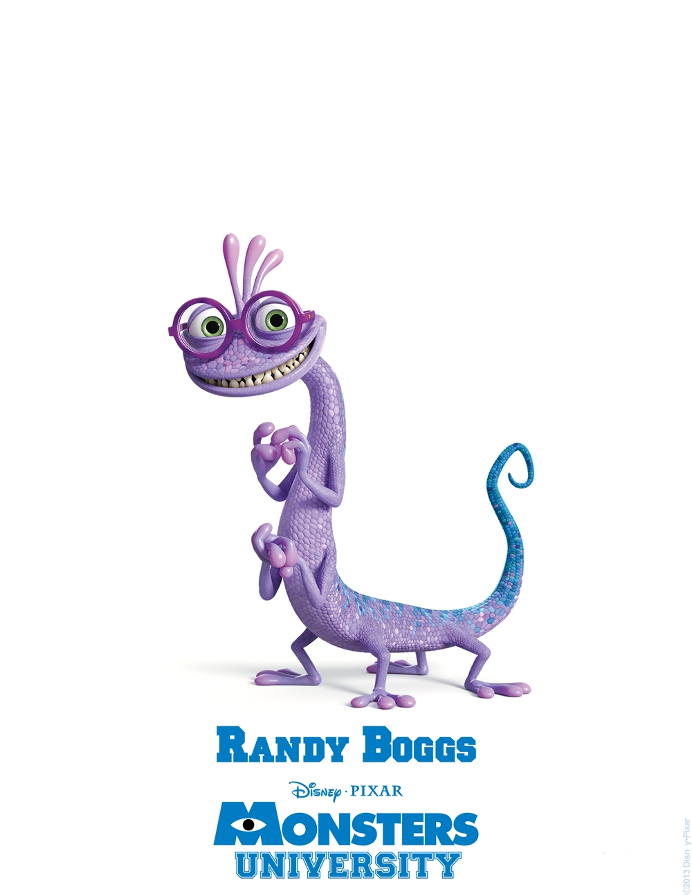 A113Animation: Monsters University Character Posters and IDs