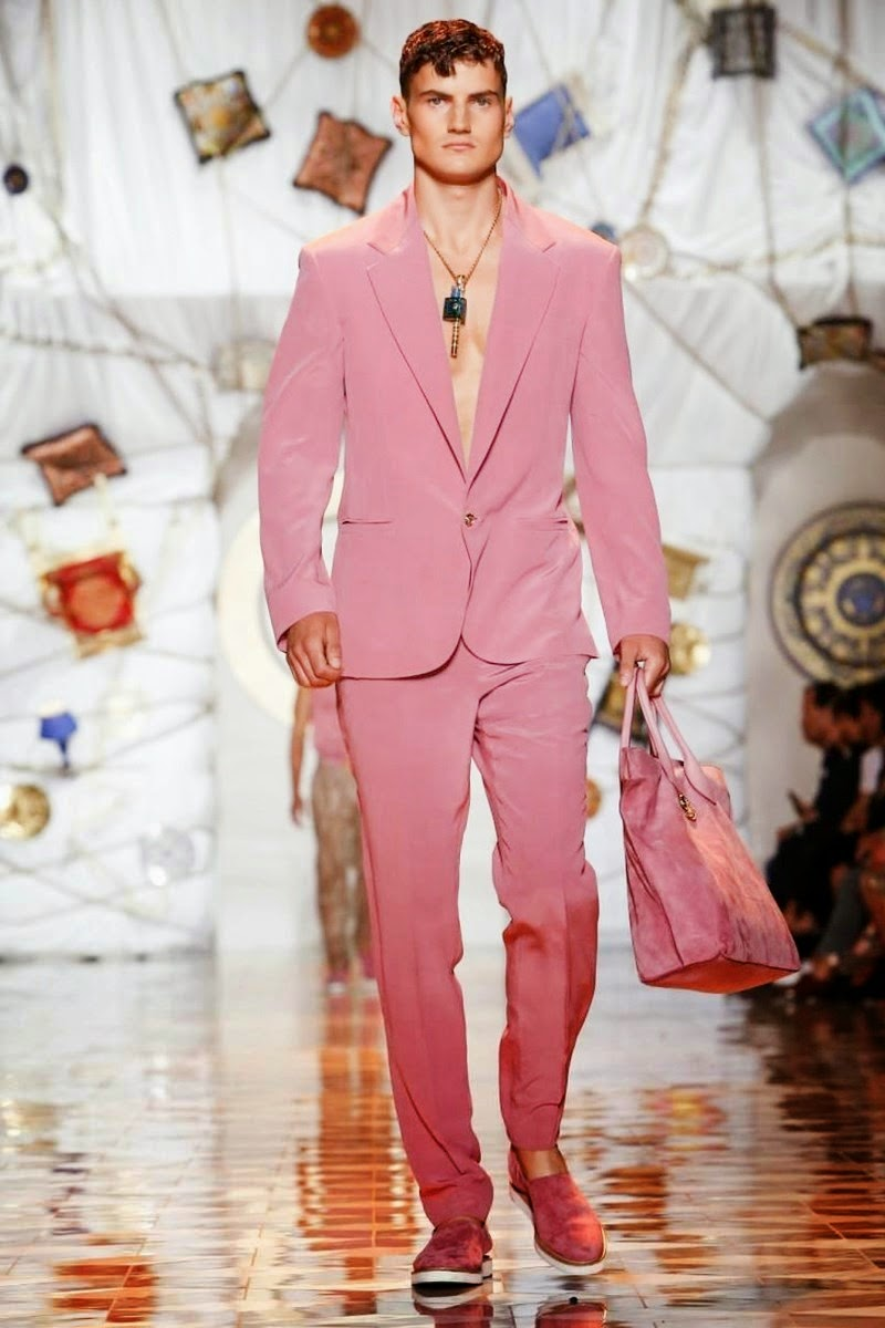 feee8719a066c7 Runway | Versace Men Spring/Summer 2015 | Milan Fashion Week | COOL ...