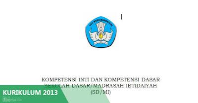 KI-KD SD-MI Kurikulum 2013 Draft 2016