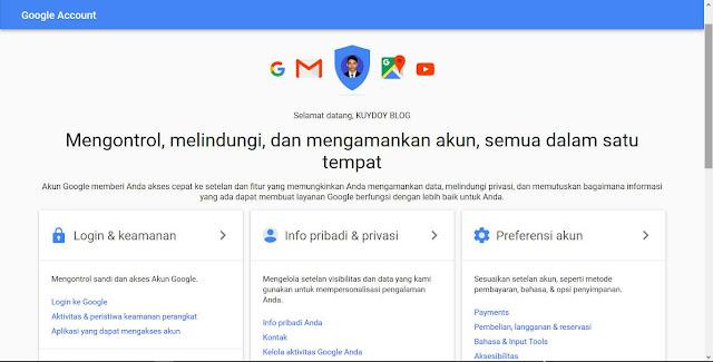 mengatasi gmail yang dapat dibaca aplikasi pihak ketiga