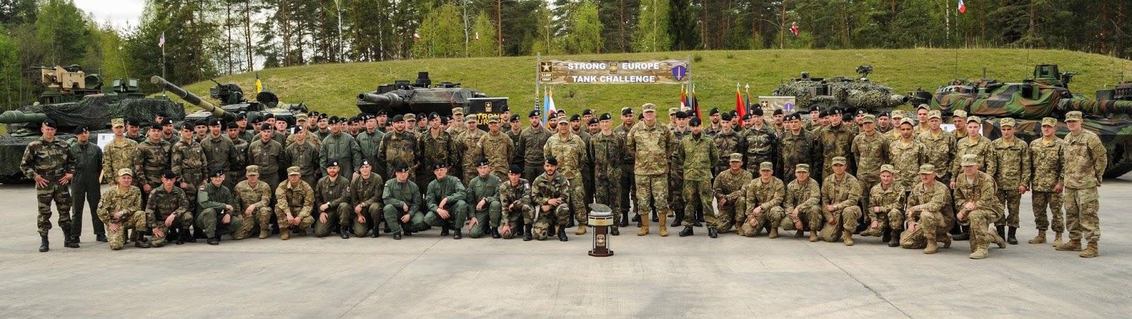 Ukrainian Military Pages - У Німеччині офіційно відкрили танкові змагання Strong Europe Tank Challenge 2017