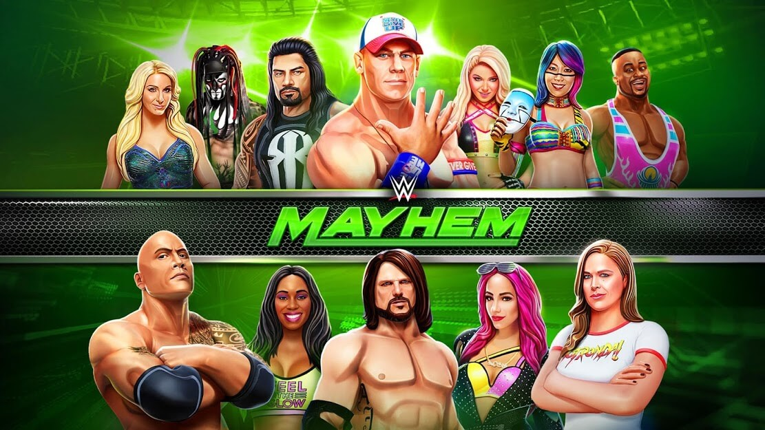 WWE Mayhem MOD DINHEIRO INFINITO 1.39.144