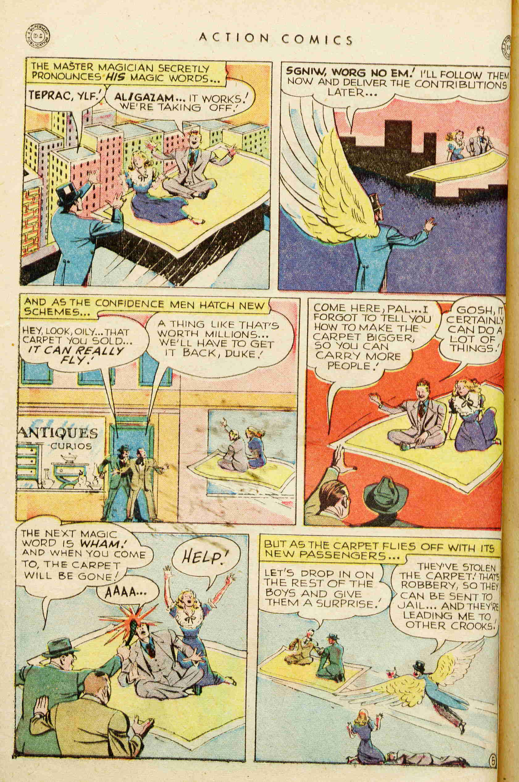 Read online Action Comics (1938) comic -  Issue #129 - 27
