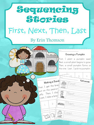 https://www.teacherspayteachers.com/Product/Sequencing-Stories-First-Next-Then-Last-2086451