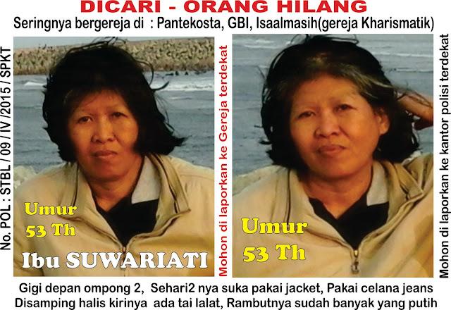 Anak hilang Penculikan EKTP Ganda  ASPAL Istri kabur Ipar yg jahat Timika Surabaya