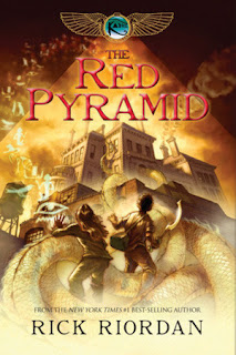 The Red Pyramid, Rick Riordan, books, series, middle grade, mythology, Egypt, adventure