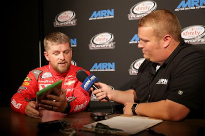 Justin Allgaier - 2017 #NASCAR XFINITY Series Playoffs Media Day Photos