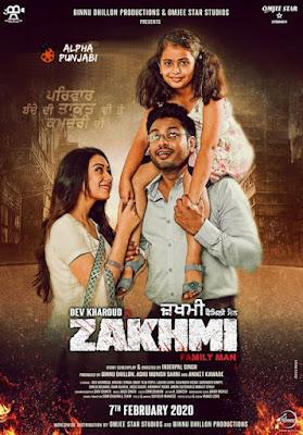 Zakhmi 2020 Punjabi 720p HDTV 1Gb x264