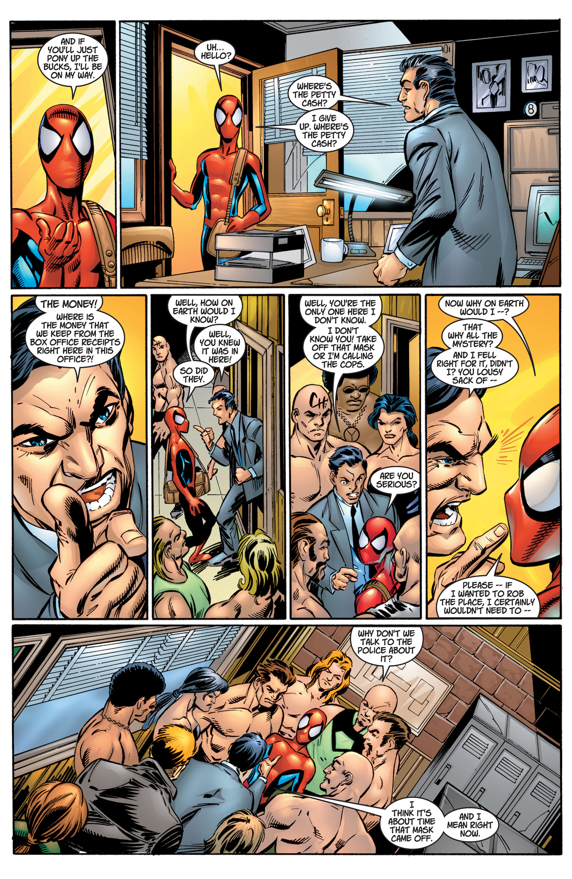 Read online Ultimate Spider-Man (2000) comic -  Issue #4 - 7