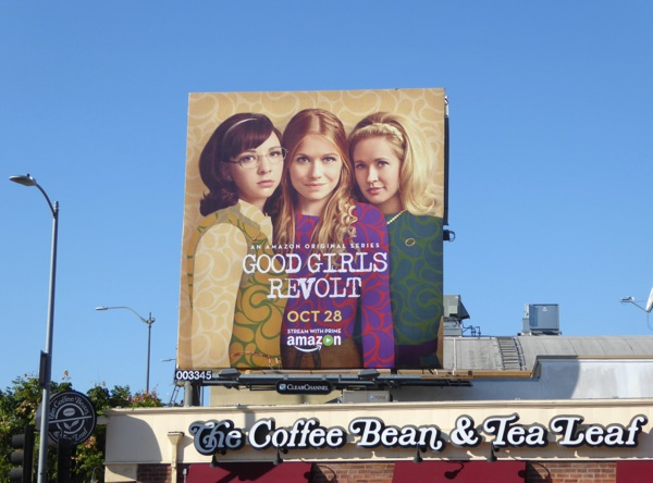 Good Girls Revolt series premiere billboard