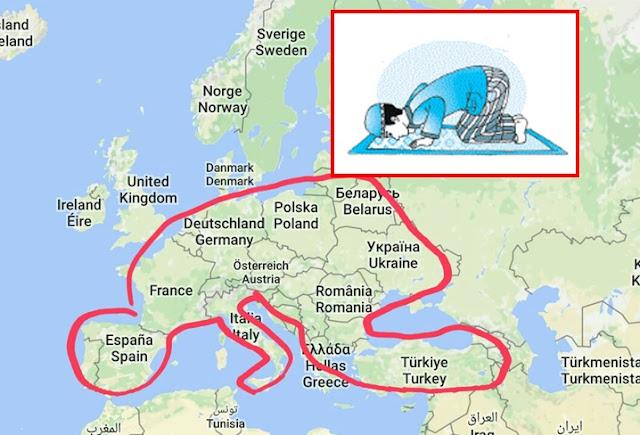 Peta Uni Eropa Pasca Brexit Mirip Orang Sujud