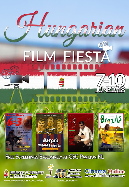 Hungarian Film Fiesta 7-10 June 2018