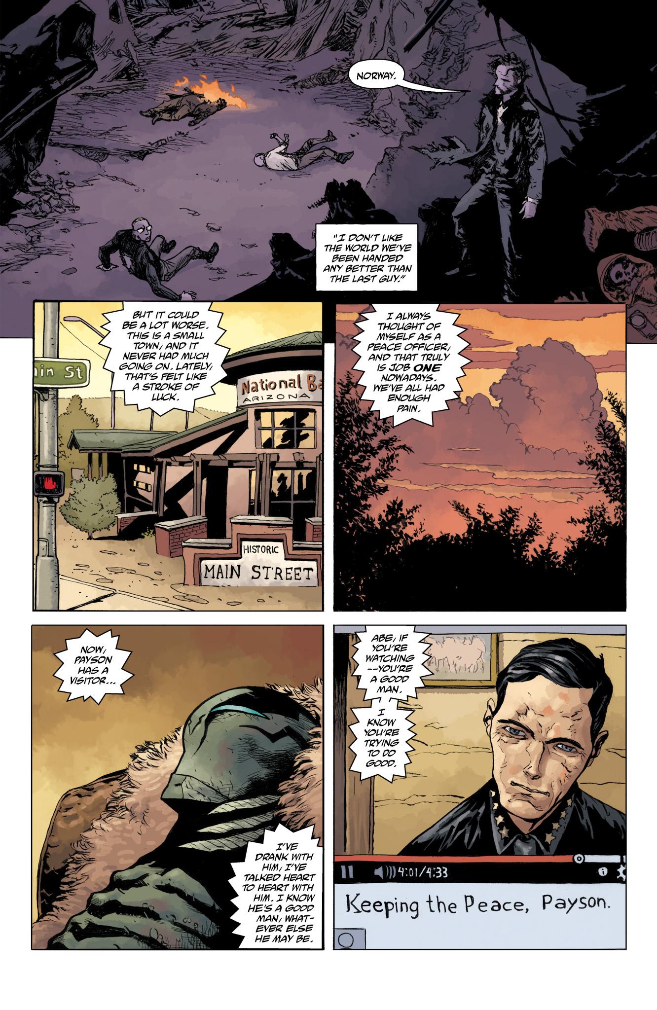 Read online Abe Sapien comic -  Issue #11 - 24