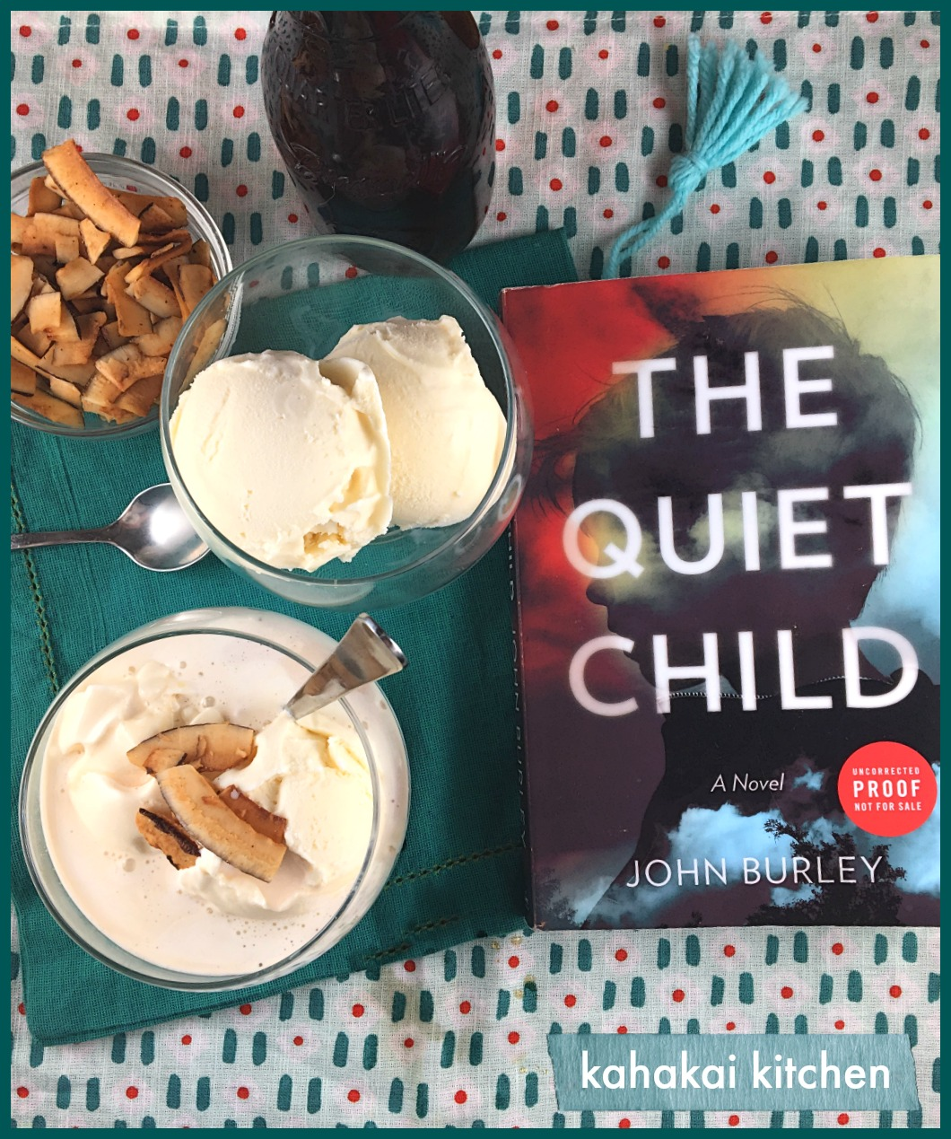 Kahakai kitchen the book tour stops here a review of the quiet accompanying my review is a recipe for a tea affogatto made with coconut black tea and vanilla ice cream inspired by my reading forumfinder Gallery