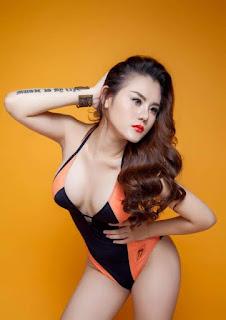 Gái xinh facebook DJ Pink