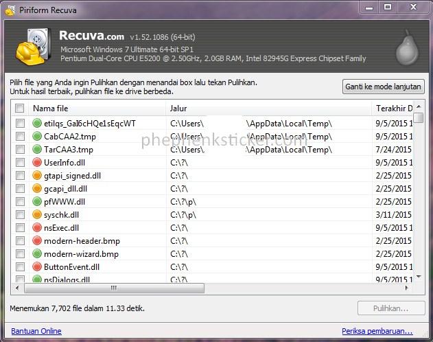 free recuva latest download version
