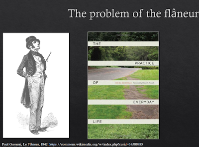 the problem of the flaneur