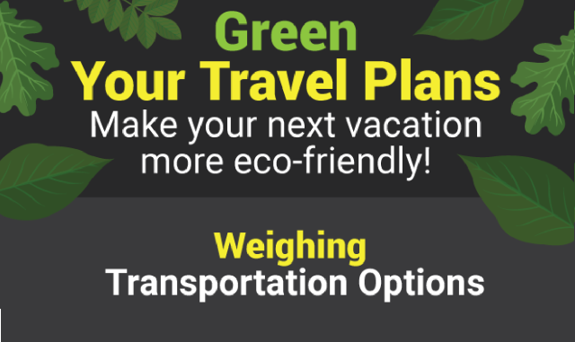 Green Your Travel Plans