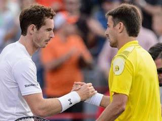 Andy Murray y Tommy Robredo tenis resultados