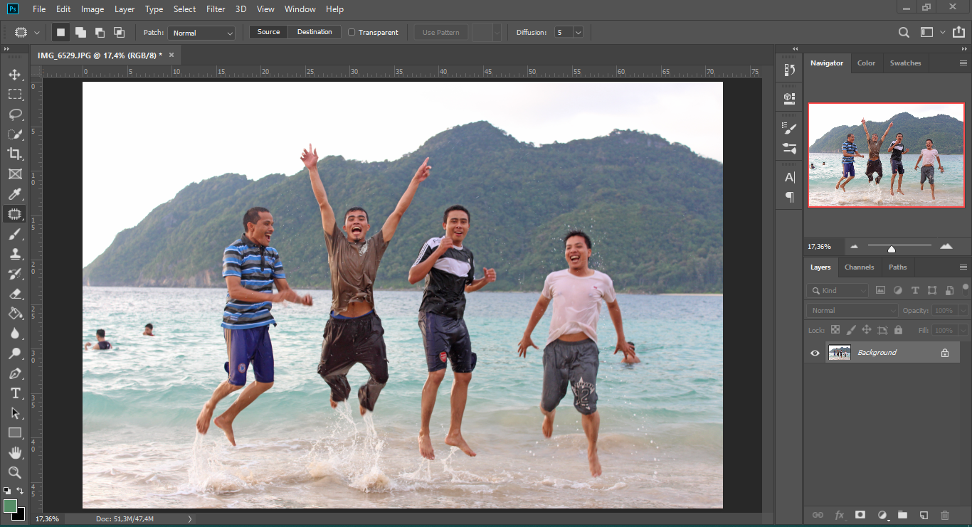Cara Menghapus Suatu Objek Dengan Photoshop Cc 2019 Maudysites
