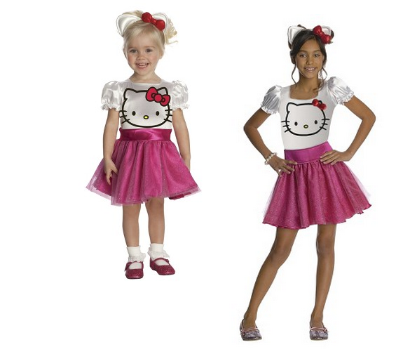 b66cf4b0c 2 Toddler or Girls' Hello Kitty Costumes $15 At Target + Buy 1 Get 1 Free  Kids' Halloween Costumes and Accessories