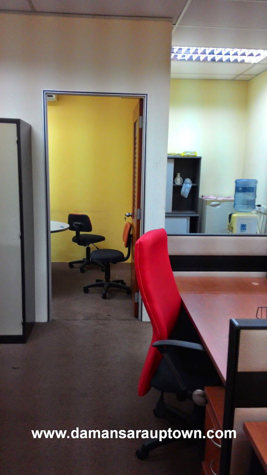 meeting room at the back