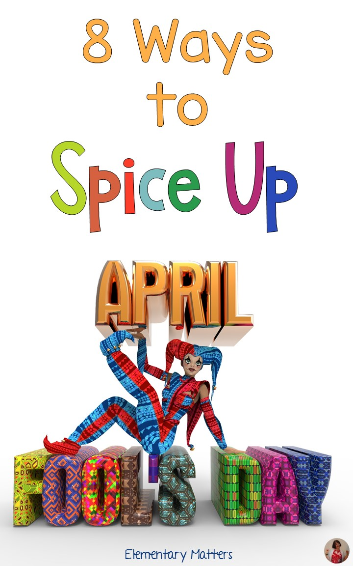 Elementary matters eight ways to spice up april fool 39 s day - Six ways to spruce up your balcony ...