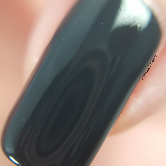 Deep-dark-almost-black-green-creme-nail-polish